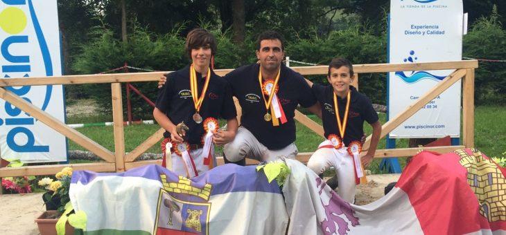 Gran éxito en el Campeonato de España de TREC